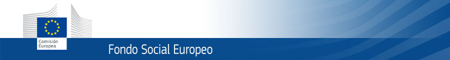 Banner del Fondo Social Europeo